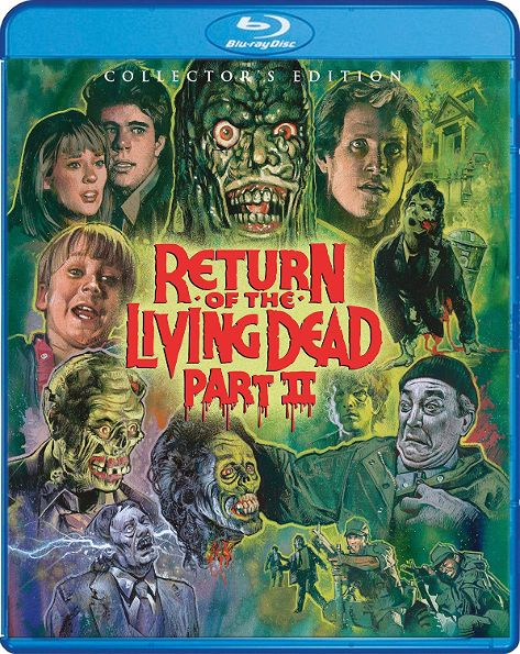 Return of the Living Dead II – Blu-ray Review