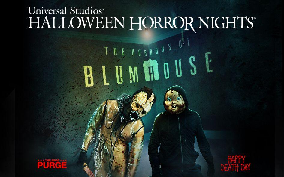 'The Horrors of Blumhouse' Returns to Universal Studios' Halloween Horror Nights