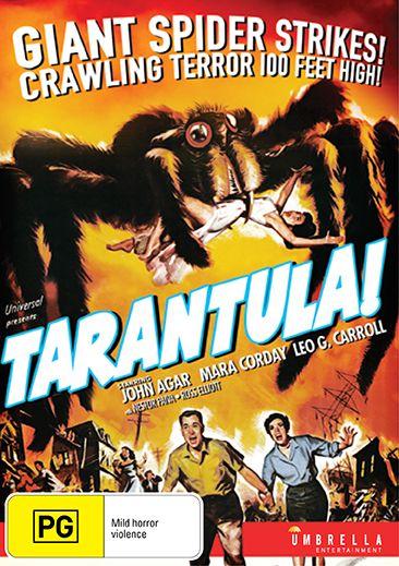 Tarantula – DVD Review