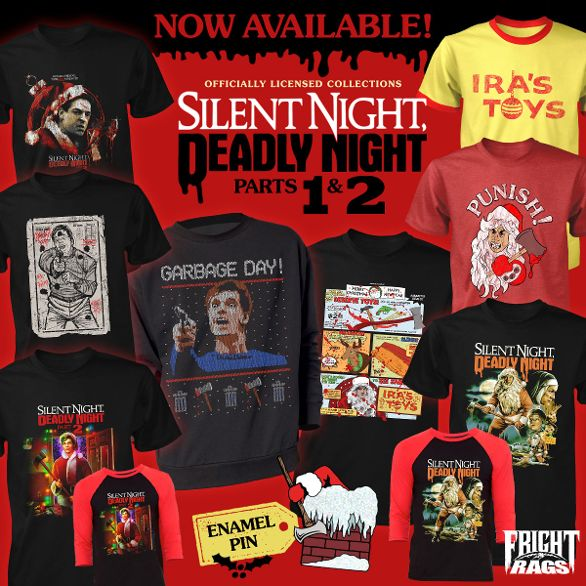 'Silent Night Deadly Night,' 'Krampus,' & More Holiday Horror from Fright-Rags