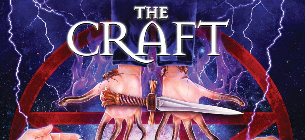 Scream Factory Reveals Cover Art and March 12th Release Date for 'The Craft' Collector's Edition Blu-ray