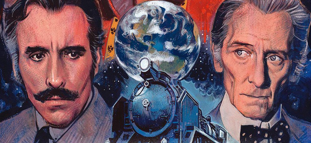 Arrow Video Announces February Blu-ray Release of 'Horror Express,' Starring Peter Cushing and Christopher Lee
