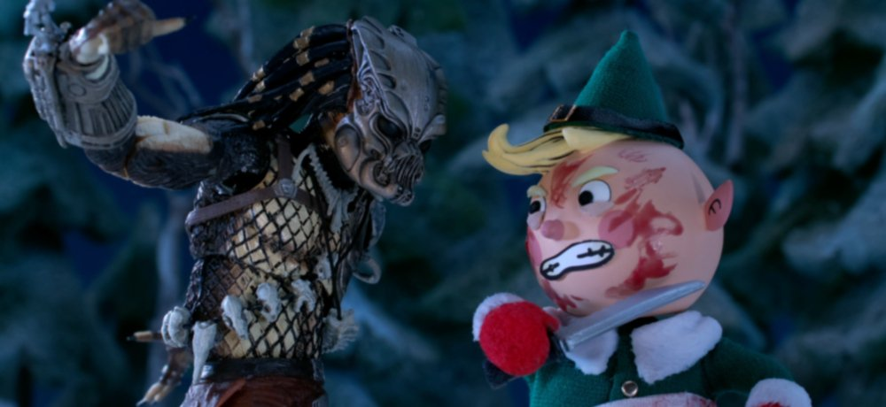 Watch Blood-Soaked Mayhem at the North Pole in 'The Predator' Stop-Motion Animated Holiday Special