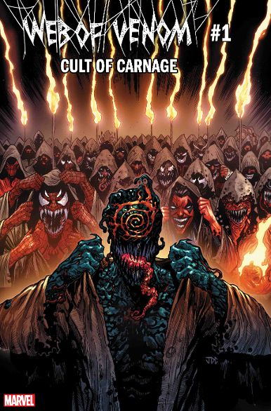 A Terror Rises in 'Web of Venom: Cult of Carnage #1!'