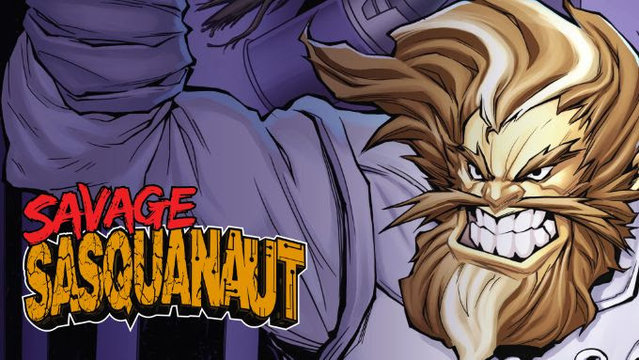 'Savage Sasquanaut' Mixes Bigfoot with Aliens and SciFi