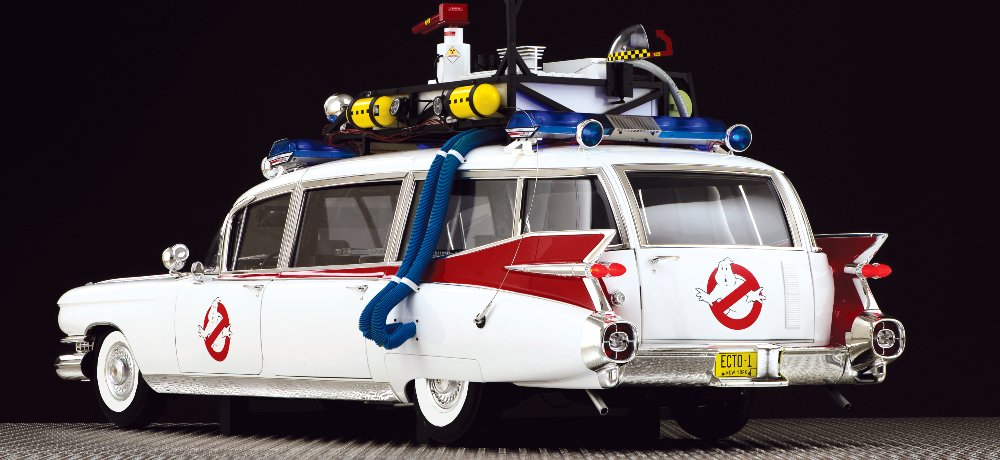 Eaglemoss Hero Collector Launches Subscription Program for GHOSTBUSTERS Fans to Build Their Own ECTO-1 Replica