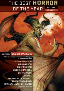 The Best Horror of the Year, Volume 11 – Book Review