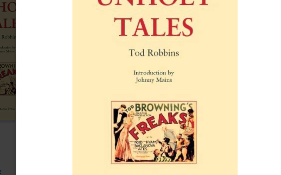Book Review: UNHOLY TALES